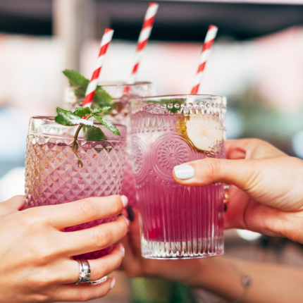 Cocktailparty mit den Mengls.